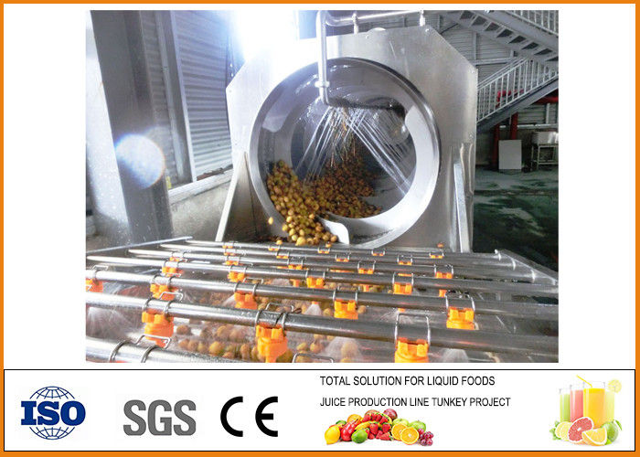 SS303 Complete Cili Fruit Juice Production Line Industrial CFM-B-02-250-267